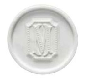 Porte savon rond collection Perle Mathilde M