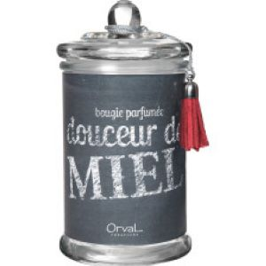 Bougie PM Douceur de Miel collection Rouge Ardoise