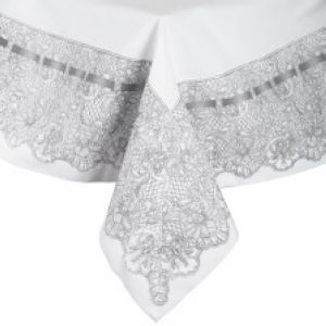 Nappe carrée collection Dentelle 156X156 cm Mathilde M
