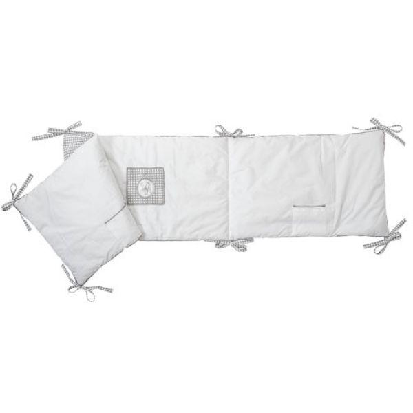 tour de lit collection nounours 40x180cm mathilde m. Black Bedroom Furniture Sets. Home Design Ideas