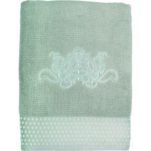 Serviette de bain Douce Arabesque lin Mathilde M