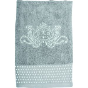 Serviette de toilette Douce Arabesque grise Mathilde M