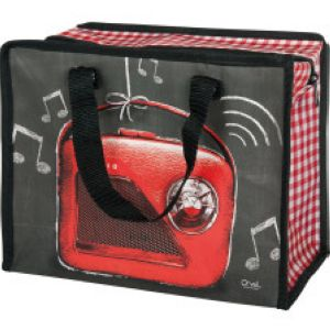 Cabas box Rouge ardoise