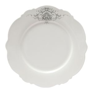 Assiettes plates X6 Marquise Mathilde M