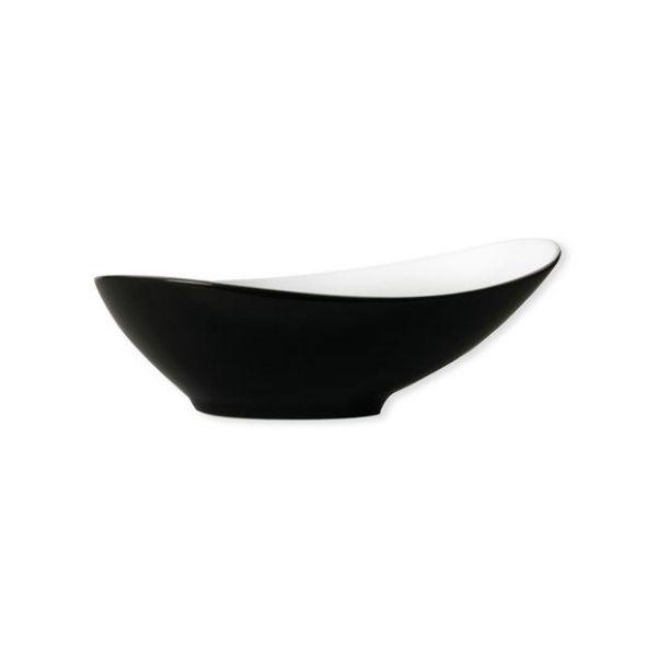 assiette creuse pila noir 18cm. Black Bedroom Furniture Sets. Home Design Ideas