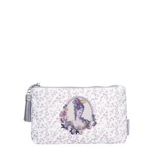 Pochette Courtisanes rose Mathilde M