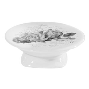 Porte savon rond collection Roses Mathilde M