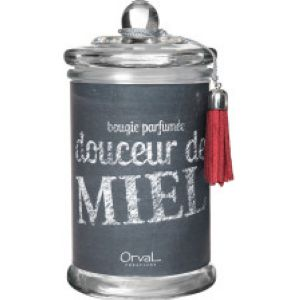 Bougie GM Douceur de Miel collection Rouge Ardoise