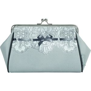 Trousse kisslock Dentelle Mathilde M