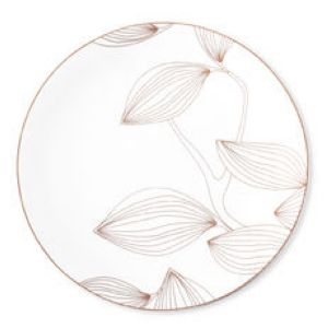 6 assiettes plates Olympe