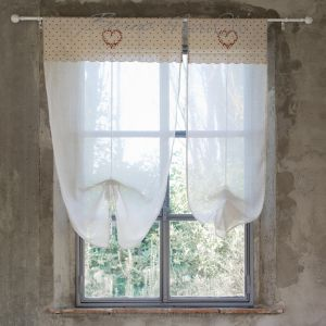 Brise Bise collection Beatrice 80x160cm Blanc Mariclo
