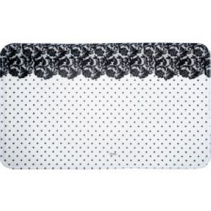 tapis de bain d coration shabby chic romantique pour la maison. Black Bedroom Furniture Sets. Home Design Ideas
