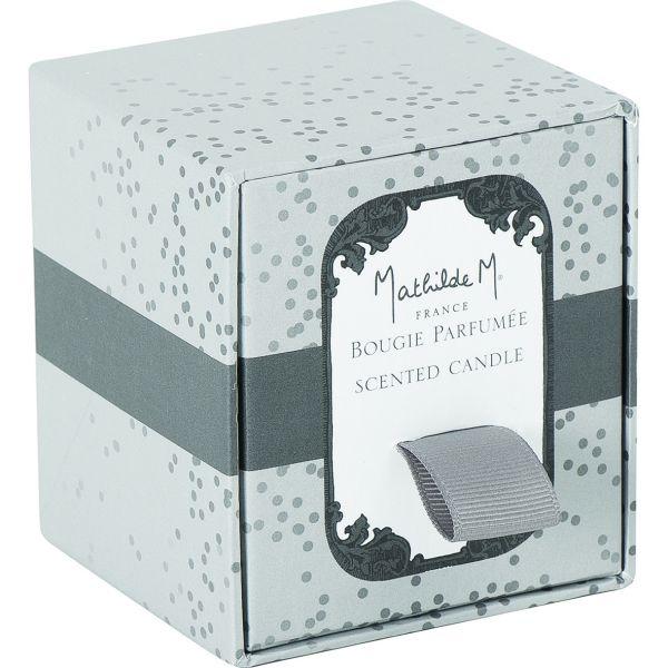 bougie parfum e ecrin 255g senteur poudre de riz mathilde m. Black Bedroom Furniture Sets. Home Design Ideas